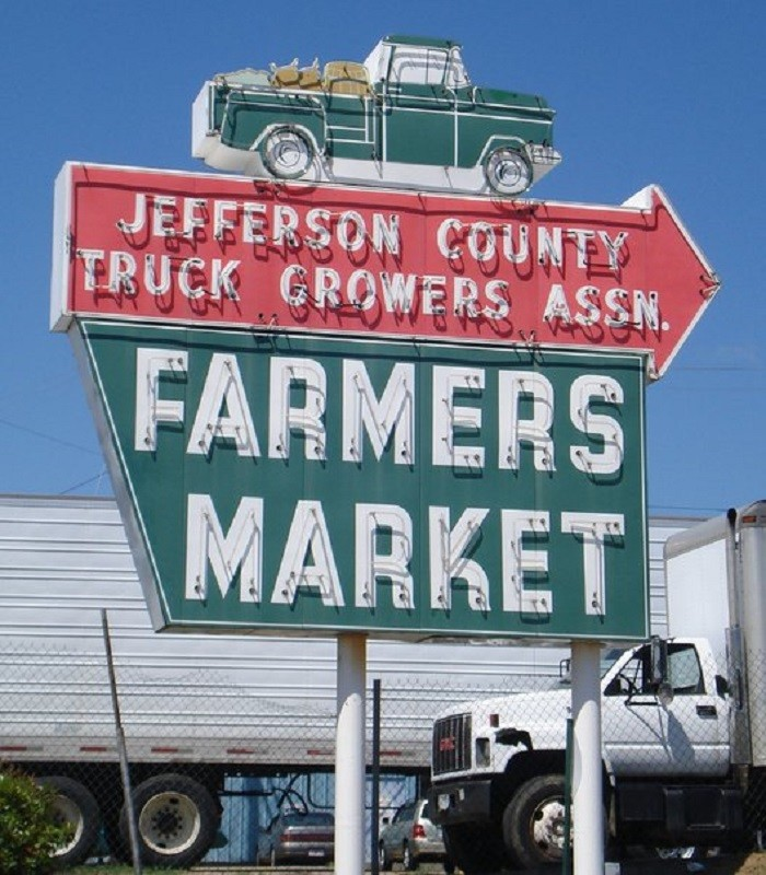 1. Alabama Farmers Market - Birmingham, AL