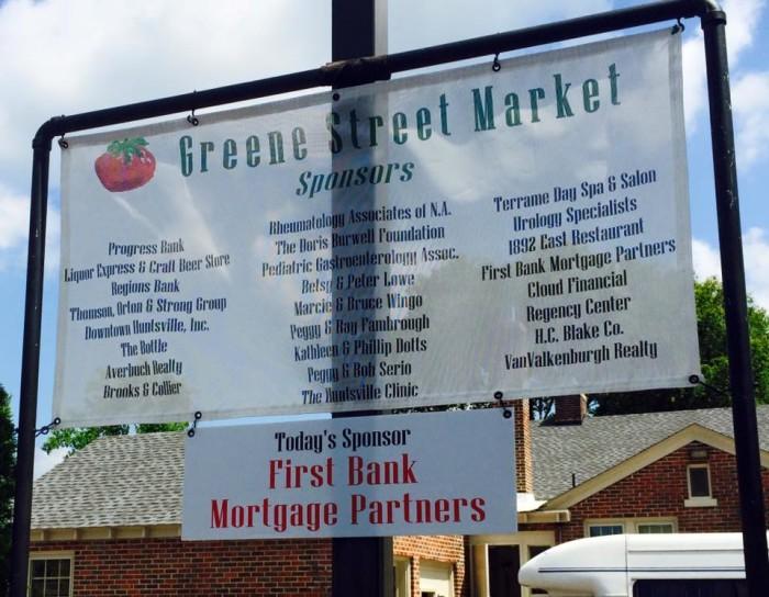 2. The Greene Street Market at Nativity - Huntsville, AL