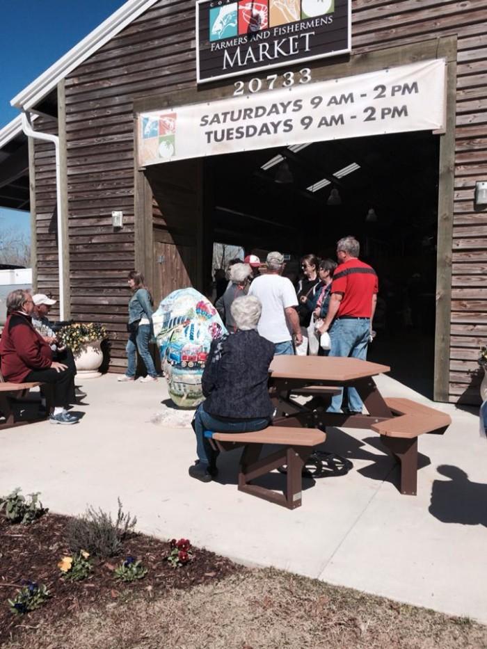 4. Coastal Alabama Farmers and Fishermens Market - Foley, AL
