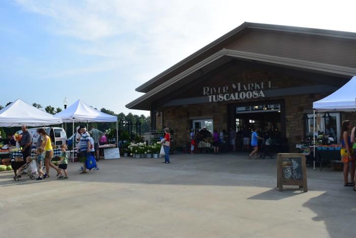 3. Tuscaloosa River Market - Tuscaloosa, AL