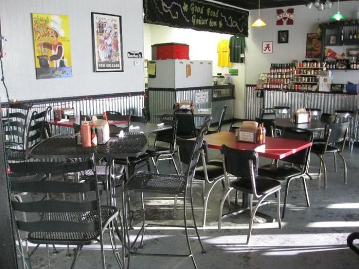 Lunch: Papa Dubi's Cajun Kitchen - 3931 Brashers Chapel Rd, Guntersville, AL 35976