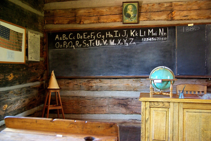 Arizona - Strawberry Schoolhouse Museum in the Town of Strawberry