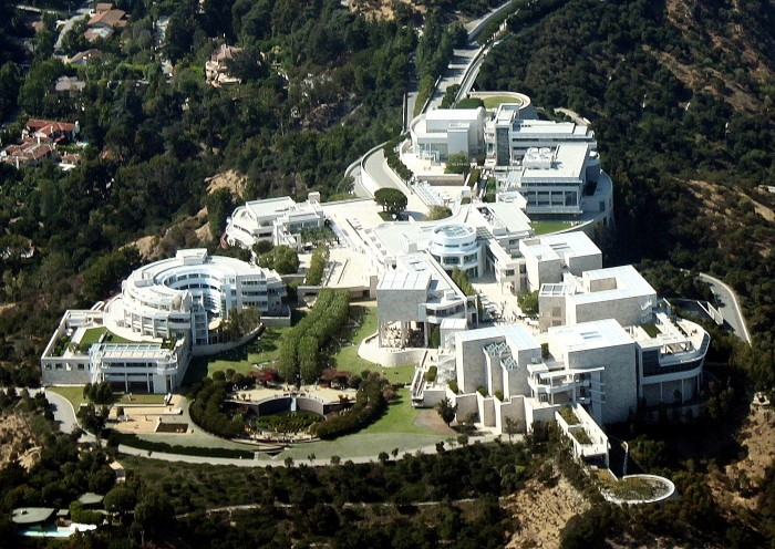 4. The Getty Center in Brentwood in Los Angeles