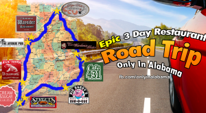 This Epic 3-Day Restaurant Road Trip In Alabama Will Make Your Mouth Explode