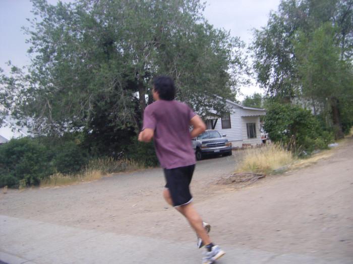 8. Always runnin'.