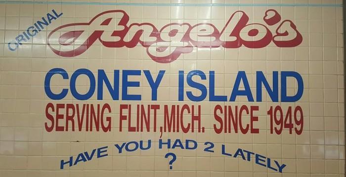 2. Angelo's Coney Island, Flint