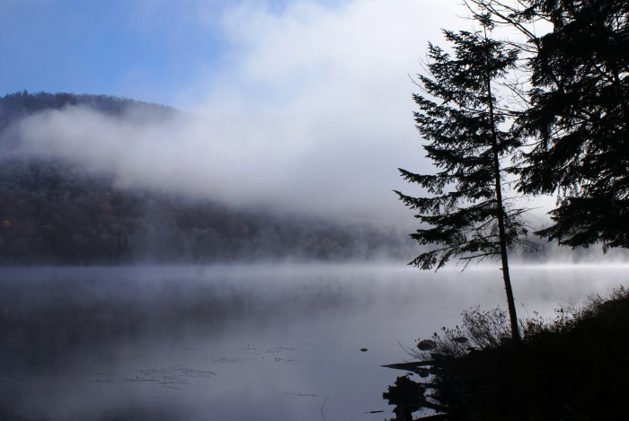 12. Another eerie morning captured in our great Adirondack Park, near the town of Newcomb.