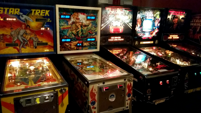 11. Blast asteroids, save the princess, and rack up high scores at a retro arcade.