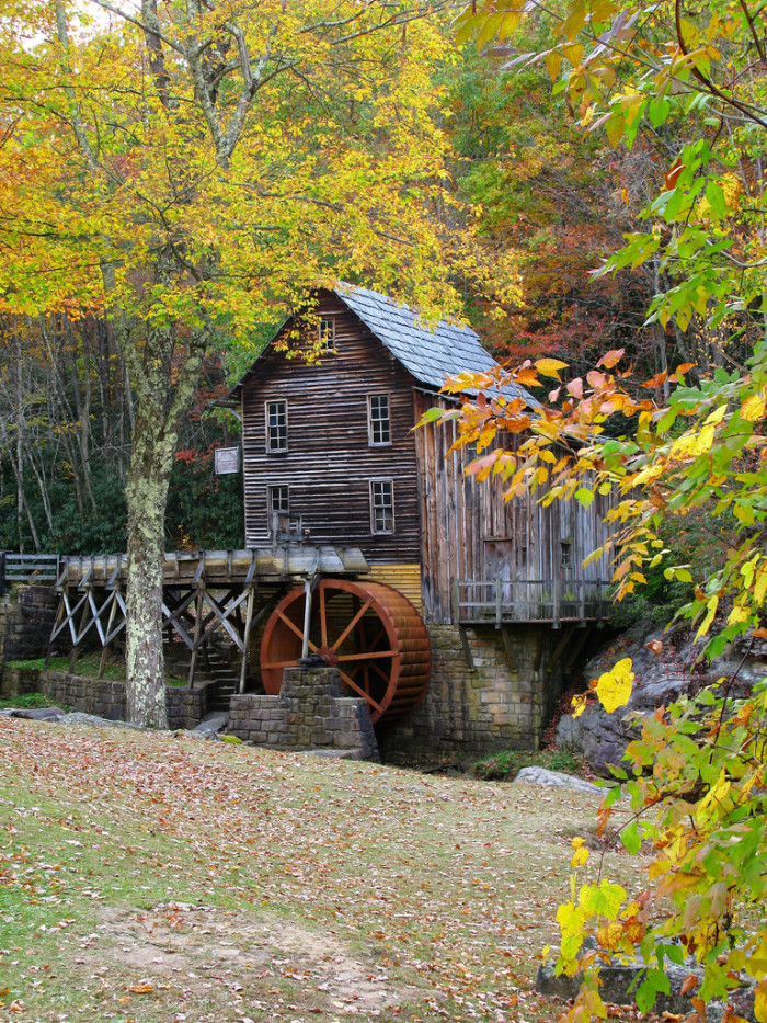 2. The Mill at Babcok State Park.
