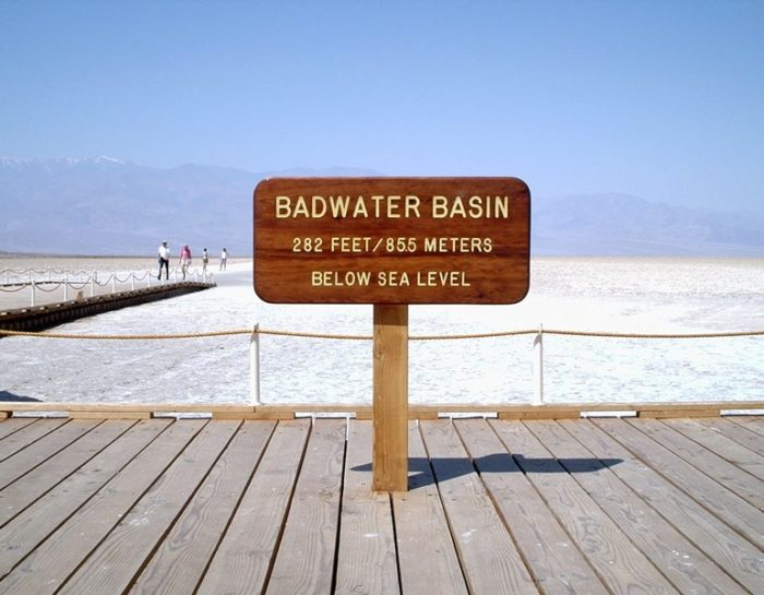 2. Badwater -- Inyo County