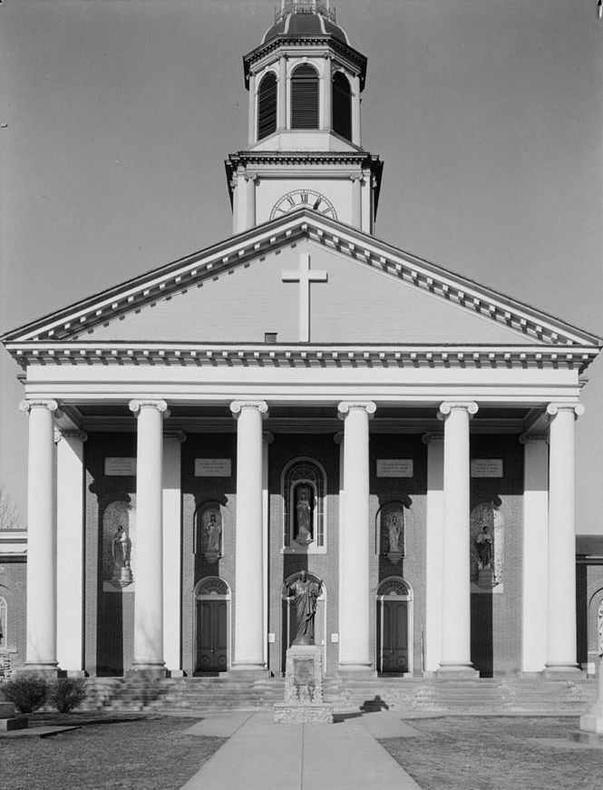10. Bardstown was the first center for Roman Catholicism west of the Appalachians.