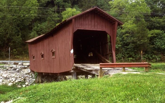 7) Bible Covered Bridge
