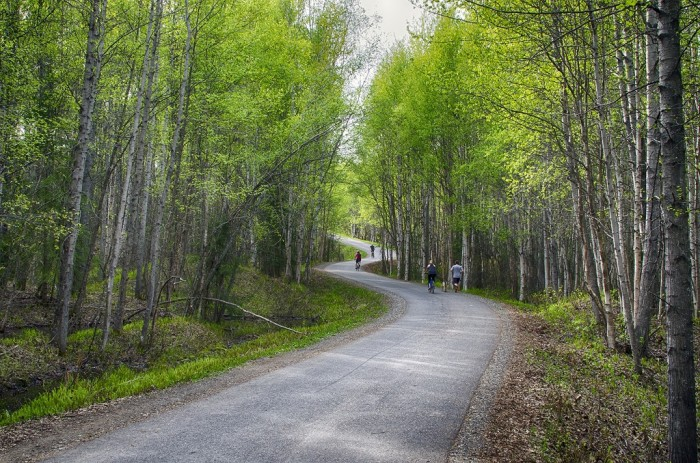 Running & Biking Paths.