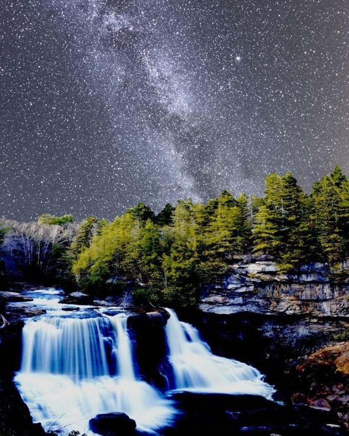 Blackwater Falls stars