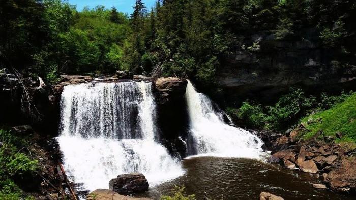 5. Blackwater Falls, Davis