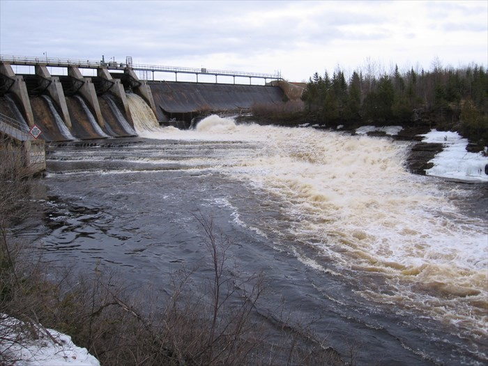 2. Boney Falls Dam, Delta County
