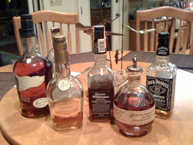 11. Bourbon sampling
