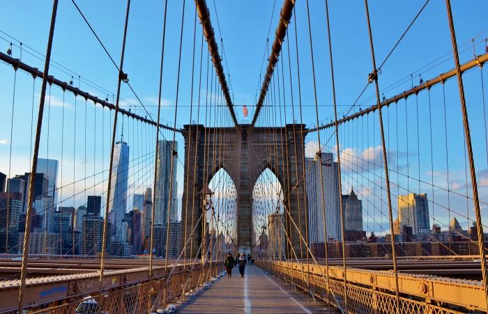 8. Brooklyn Bridge, New York