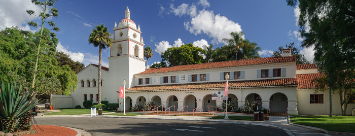 1. Former building of the Camarillo State Mental Hospital