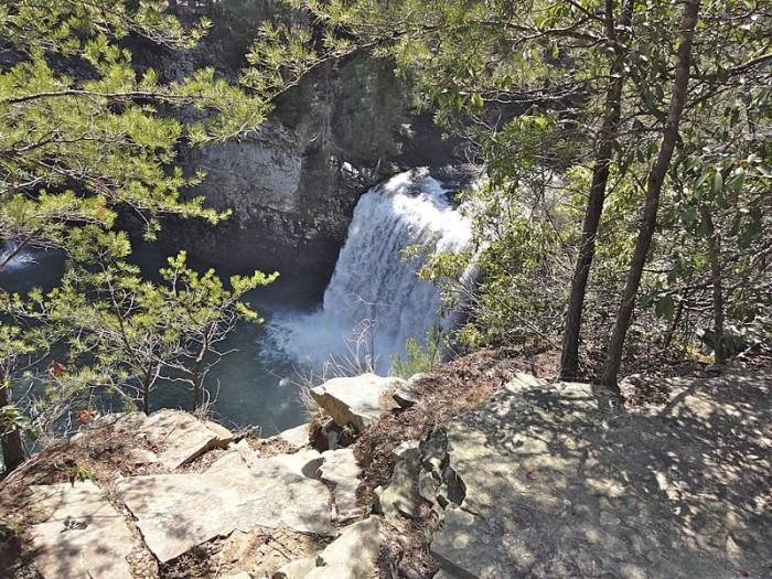 10) Cane Creek Falls - Pikeville