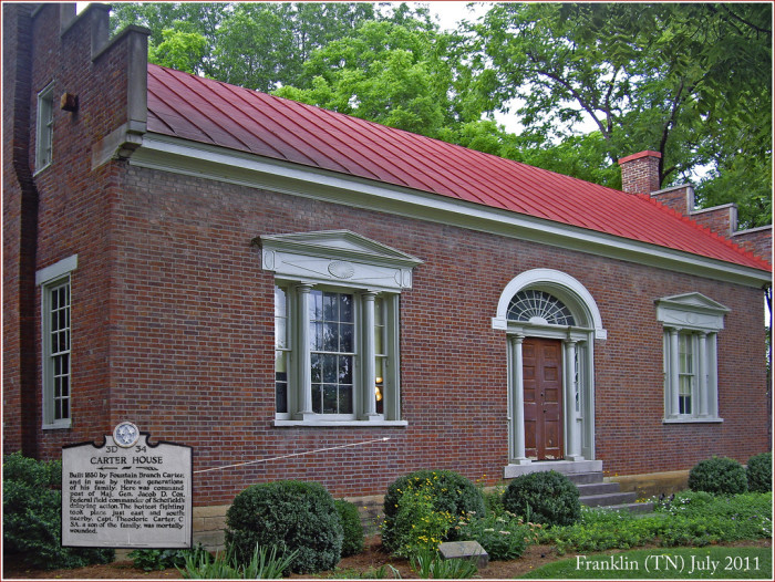 10. Carter House - Franklin
