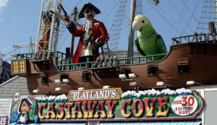 Amusements abound at Playland Castaway Cove and Gillian's Wonderland Pier.