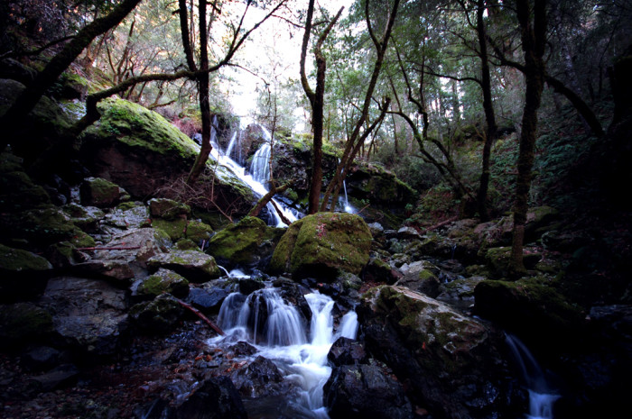 1. Cataract Falls and Double Falls, Lewis and Clark County