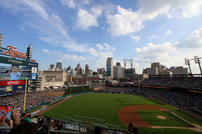 2. Cheer for the Tigers at Comerica Park