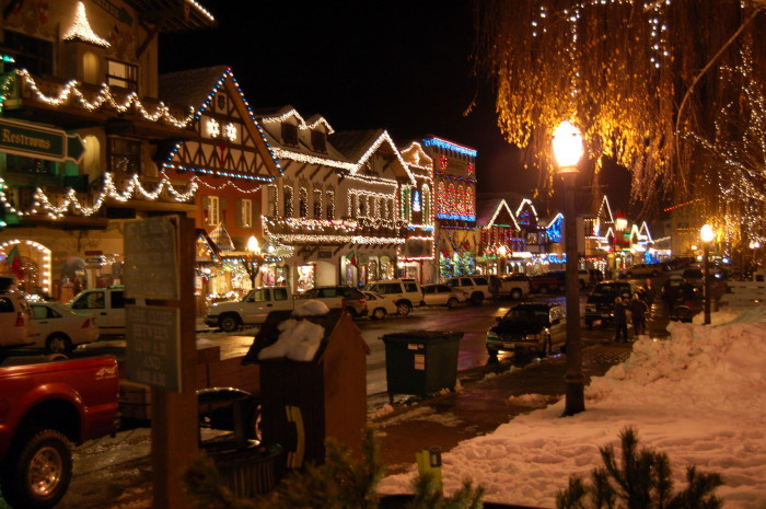 8. Weekend getaways include visits to places like Leavenworth and Long Beach.