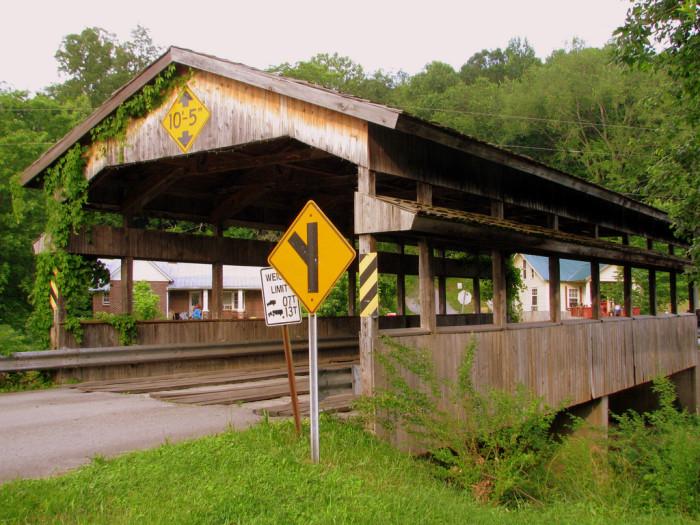 1) Church St. Covered Bridge