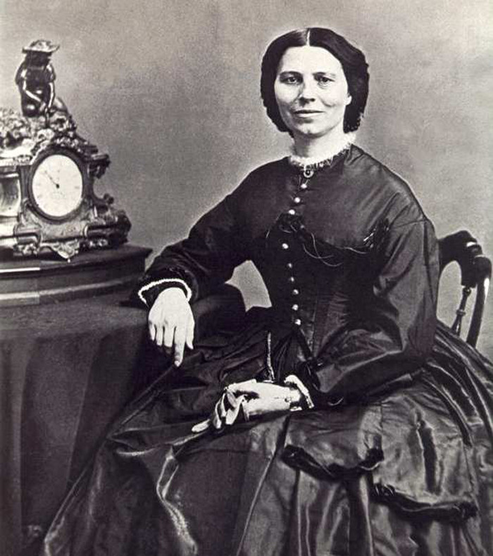 2. Clara Barton - founder of The American Red Cross.