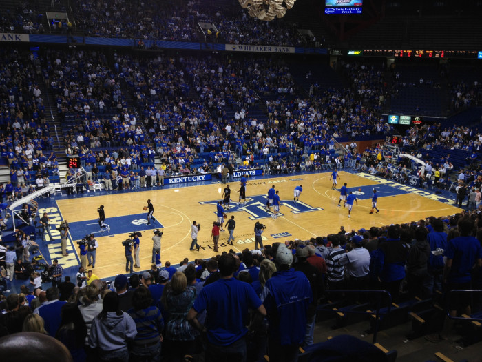 9. College basketball fans