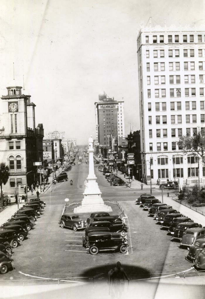 2. Columbia - The view from the front steps of the Capitol Building in the 1930s.