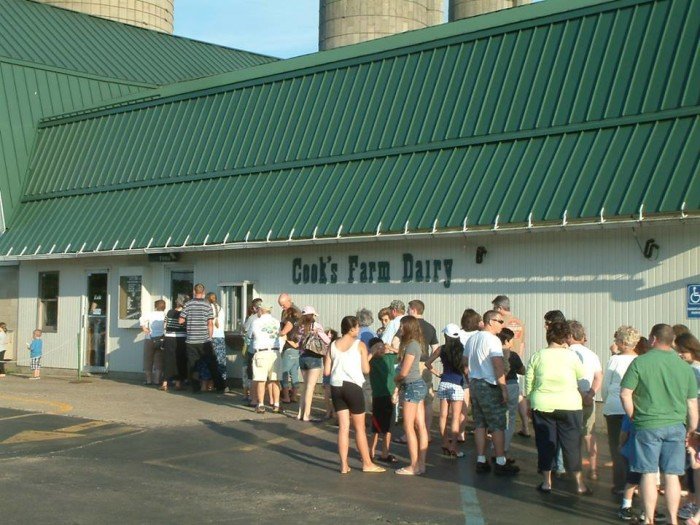 5. Cook's Dairy Farm, Ortonville