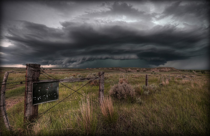 13. Ominous Clouds, Route 212, Southeast Montana
