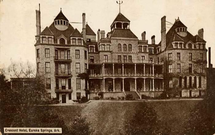 13. The Crescent Hotel, Eureka Springs, 1886