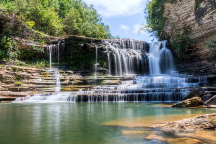 10) Cummins Falls