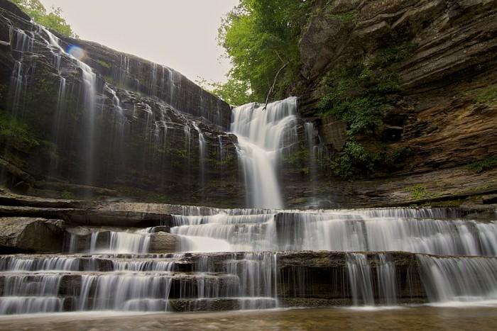 9) Cummins Falls - Cookeville