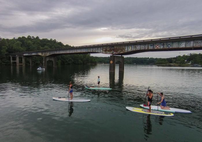 13) Smith Lake Paddle Board