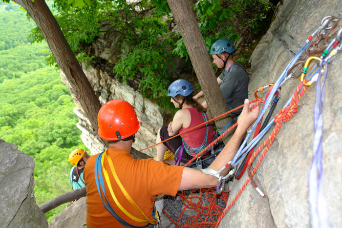 2. Take a day to explore the adventurous areas inside our Minnewaska State Park Preserve.