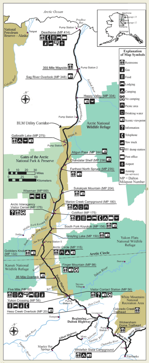 Nearest Gas Stations >> Alaska's James Dalton Highway Is The Most Dangerous Road