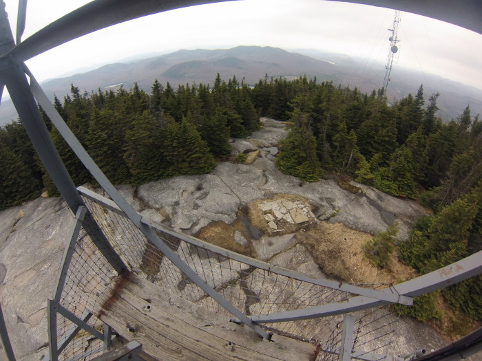 10. The elevated views from many of our mountain's fire towers.