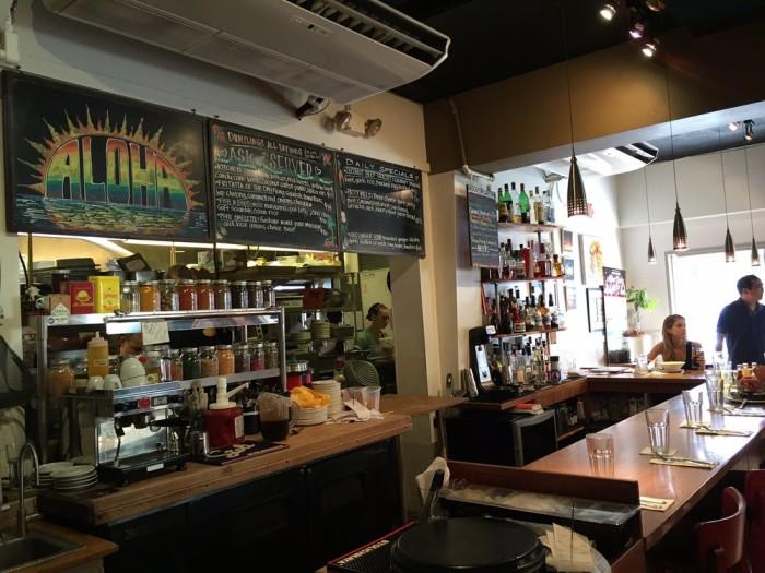 Day 1: Breakfast at Koko Head Café.