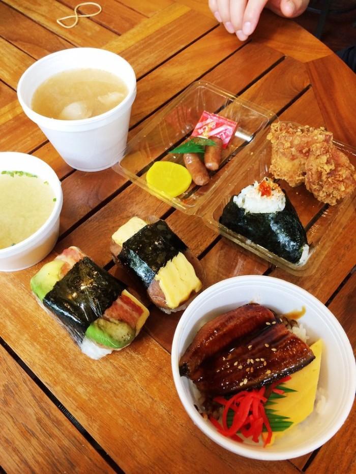 Day 1 - Snack break at Musubi Café Iyasume. #2