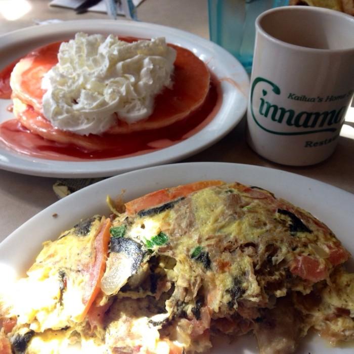Day 2 - Breakfast at Cinnamon's. #2