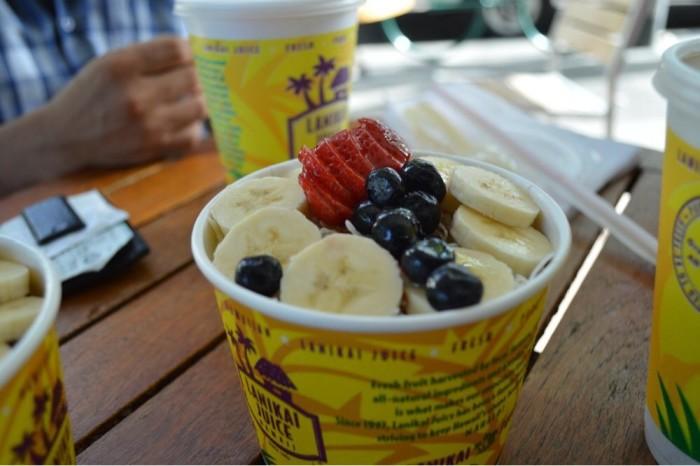 Day 2 - Snack break at Lanikai Juice. #2