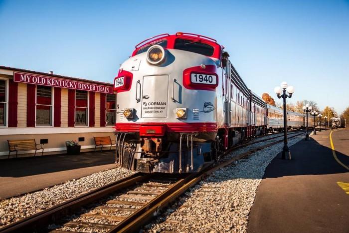 Day 2 Dinner: Old Kentucky Dinner Train
