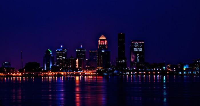 Day 3: Louisville, Kentucky's largest city.