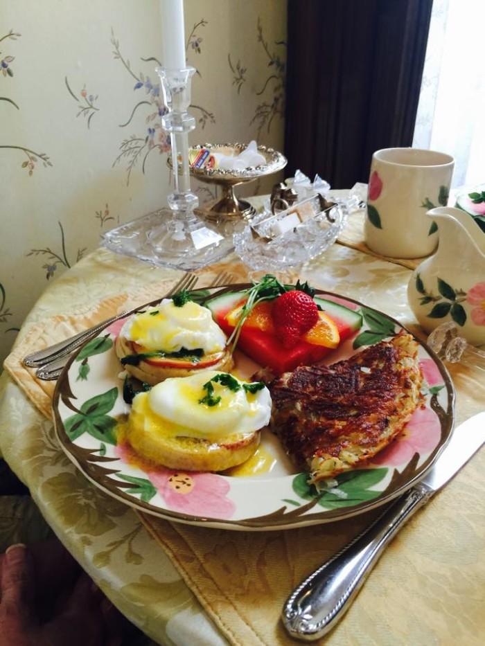 Day 3 breakfast food.