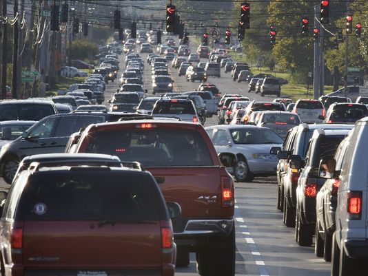 12. Derby season makes you cringe if you live anywhere near Louisville or have to travel there for any reason.  The traffic jams are reminiscent of the city streets in Walking Dead… hungry souls stretched out for miles. We rank in the 30s for congestive city traffic in the U.S.